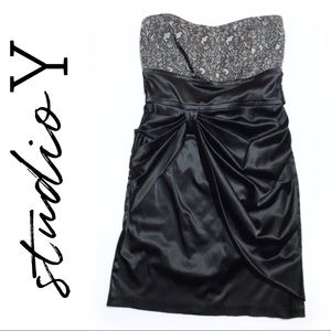 Maurices Studio Y • Strapless Cocktail Dress